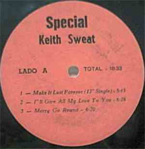 Keith Sweat - Special Keith Sweat