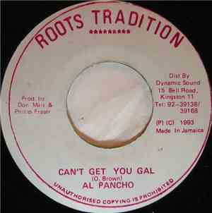 Al Pancho - Can't Get You Gal