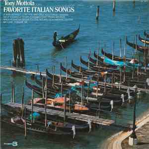 Tony Mottola - Tony Mottola Plays Favorite Italian Songs