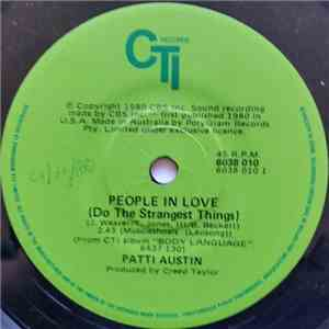 Patti Austin - People In Love (Do The Strangest Things) / S.O.S.