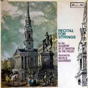 Academy Of St. Martin In The Fields Directed By Neville Marriner - Recital  ...