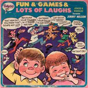 Jimmy Nelson  - Fun & Games & Lots Of Laughs: Jokes And Riddles