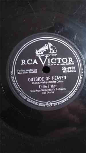 Eddie Fisher - Outside Of Heaven / Lady Of Spain