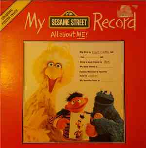 Sesame Street - My Sesame Street Record: All About Me!